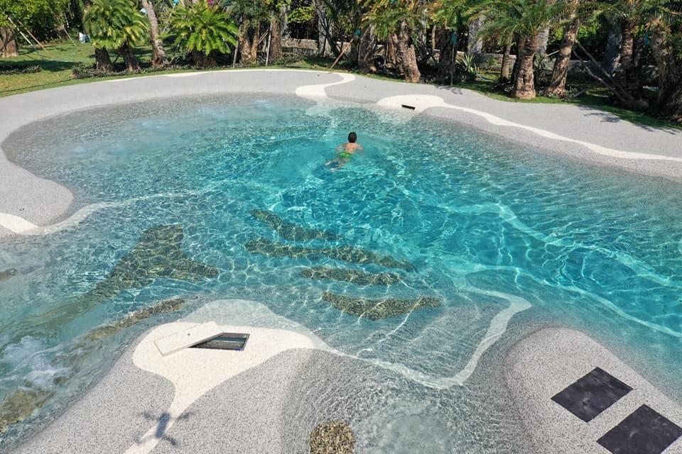 biodesignpool สระว่ายน้ำหาดทราย